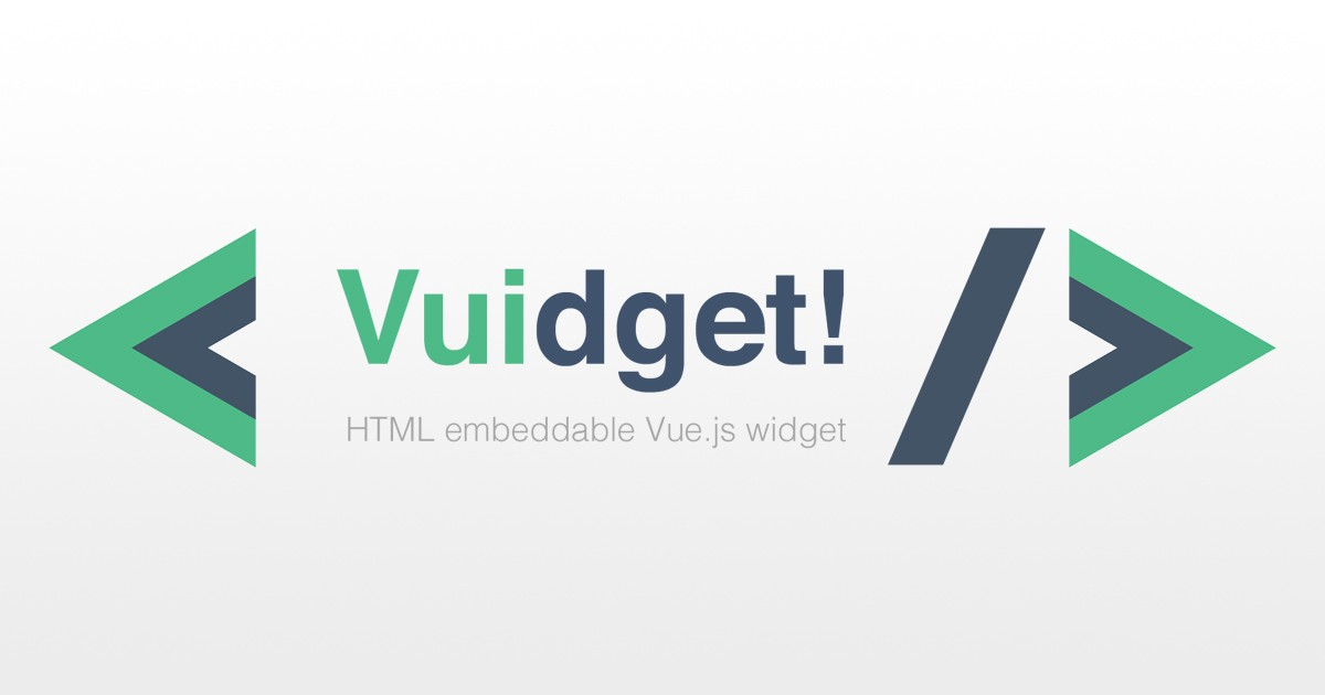 Vuidget — How to create an embeddable Vue js widget with vue