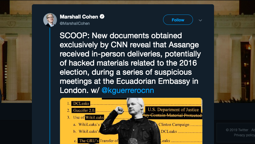 New CNN Assange Smear Piece Is Amazingly Dishonest, Even For CNN