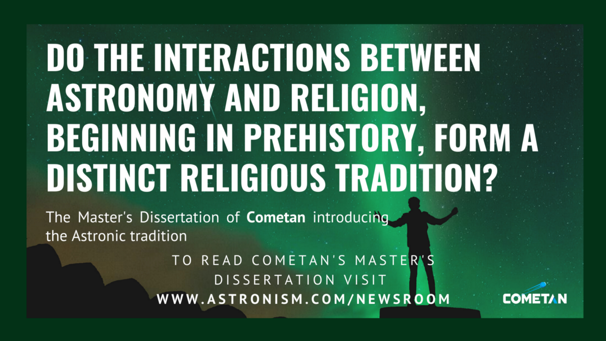 Do the prehistoric interactions between astronomy and religion form a distinct religious tradition?