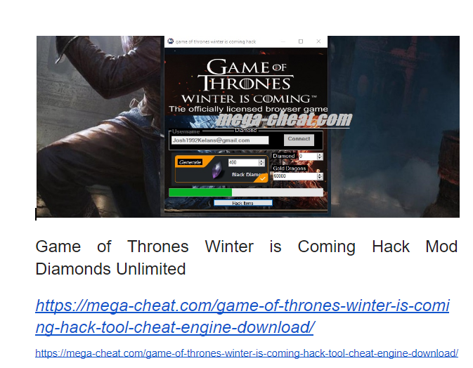 winter is coming game of thrones hack cheat mod apk on