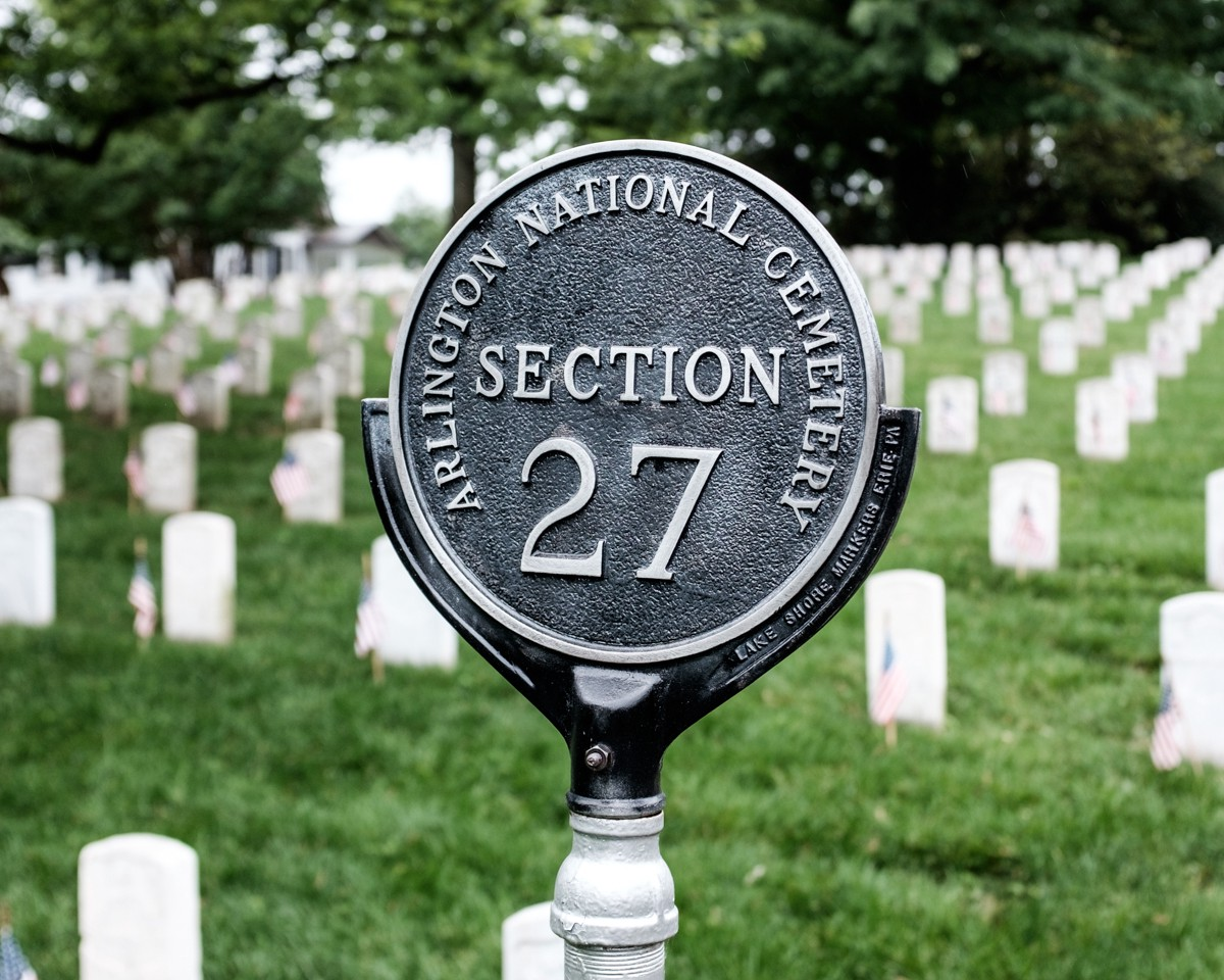 Section 27 at Arlington National Cemetery is the final resting place to over 5,000 African…