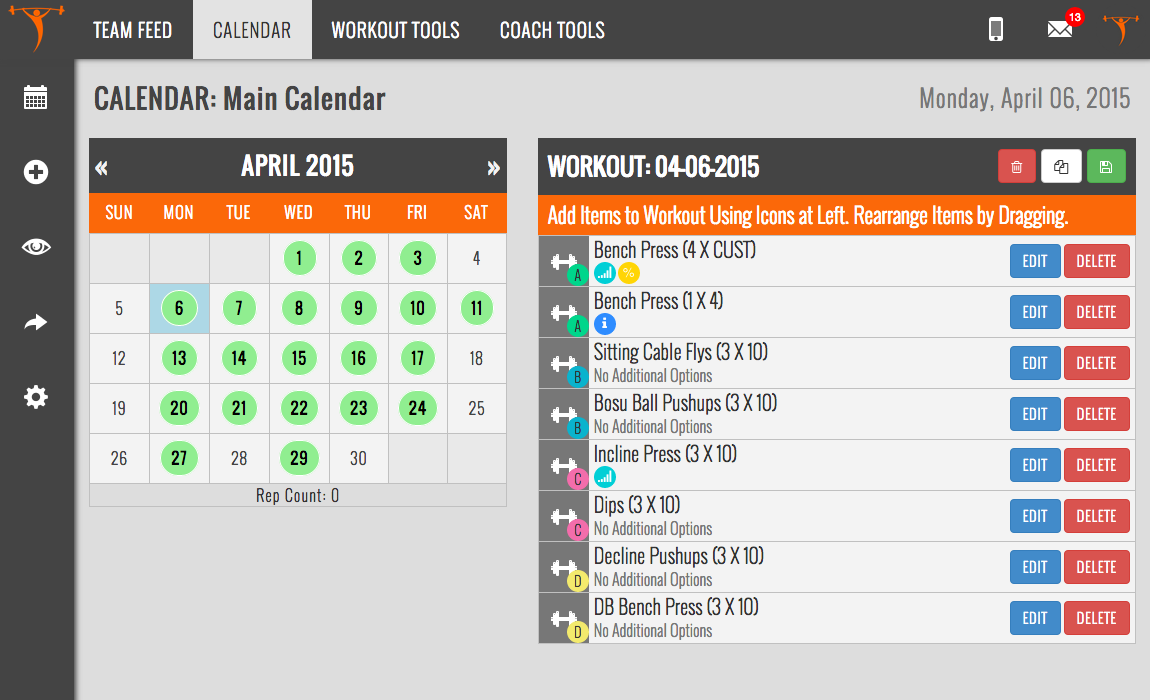 TeamBuildr: The New Online Strength and Conditioning Software