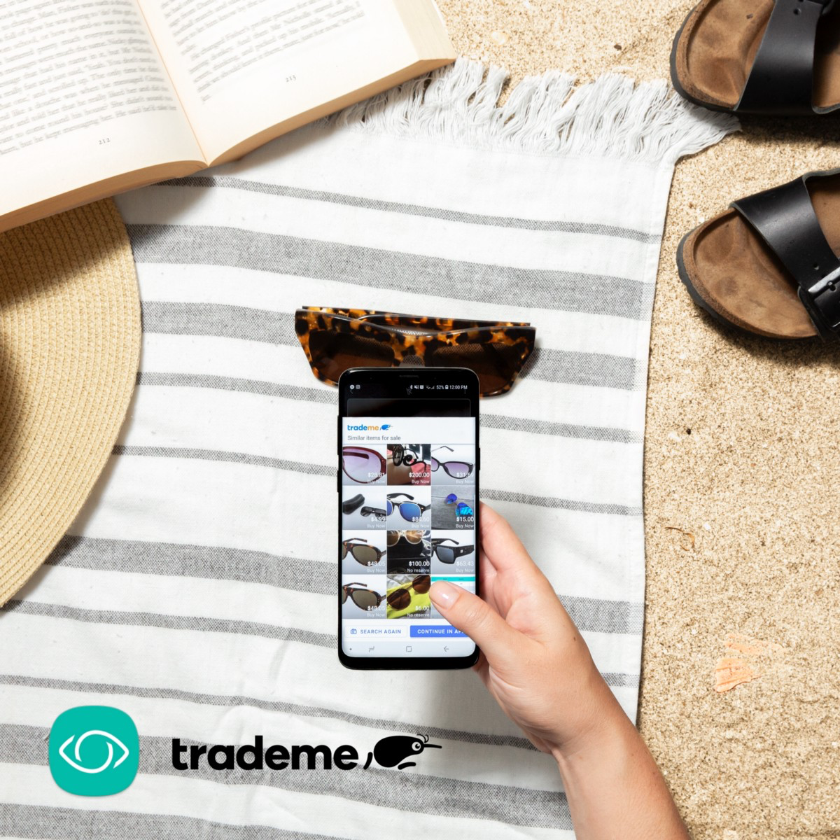 Shop with your camera — introducing Trade Me for Bixby Vision