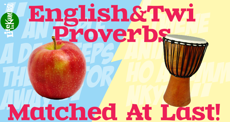 Asante Twi and English Proverbs, Matched  - God's Gift - Medium