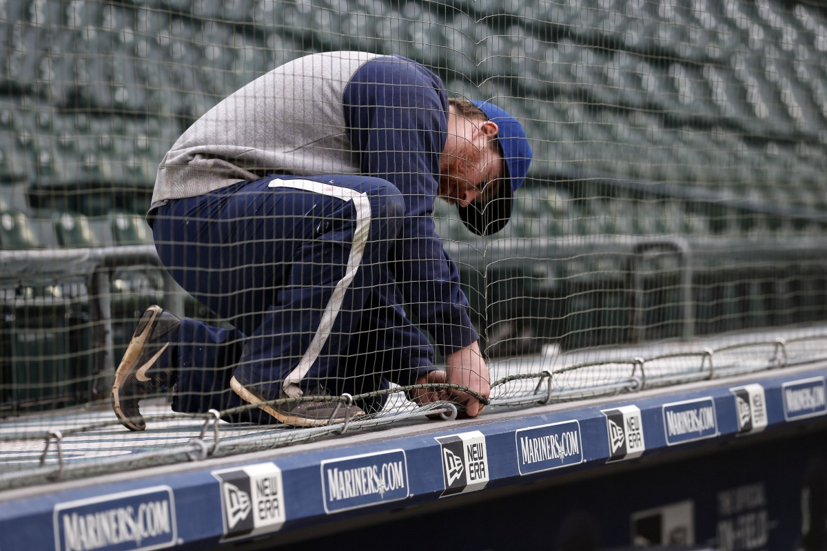 Mariners Install Expanded Protective Netting At Safeco Field