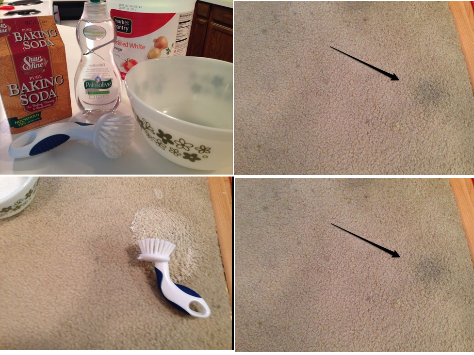 How To Remove Really Old Carpet Stains With Baking Soda And