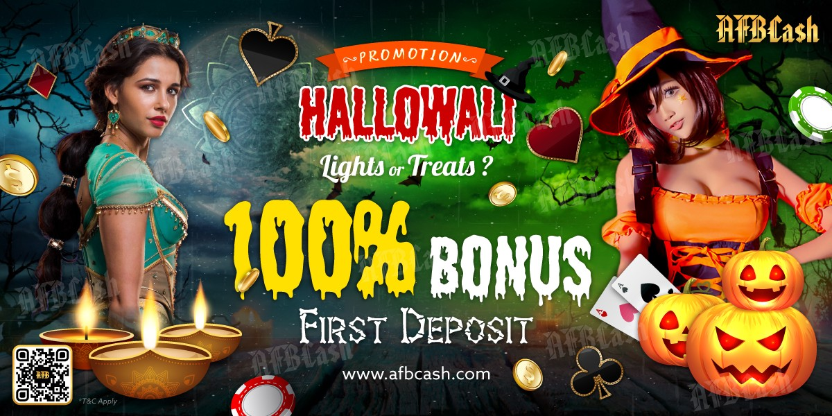 AFBHalloween & Deepavali Promotion on AFBCash! | by Afbsportsbook | Medium