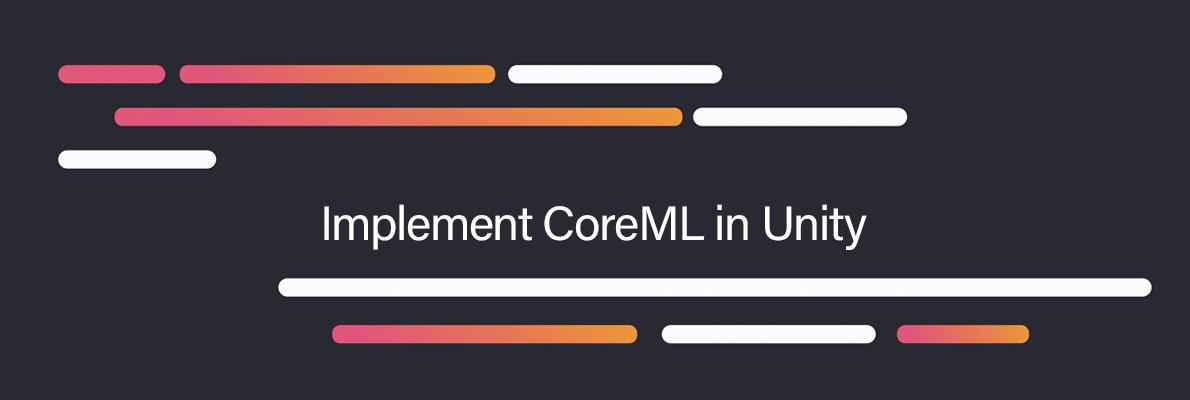 Implementing CoreML in Unity - Kevin H - Medium