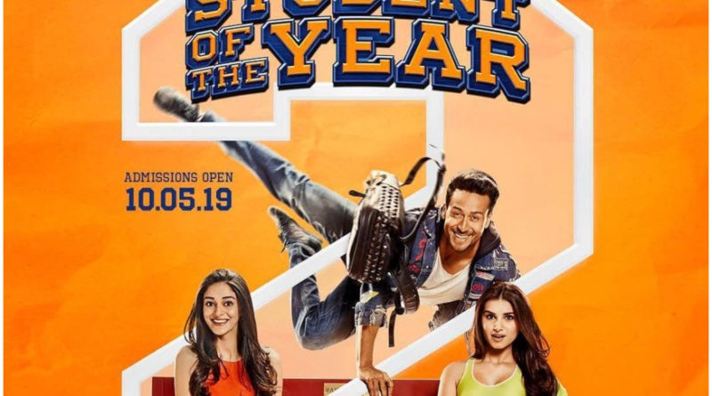 Student of the Year 2 (2019) Movie Songs & Ringtone Download