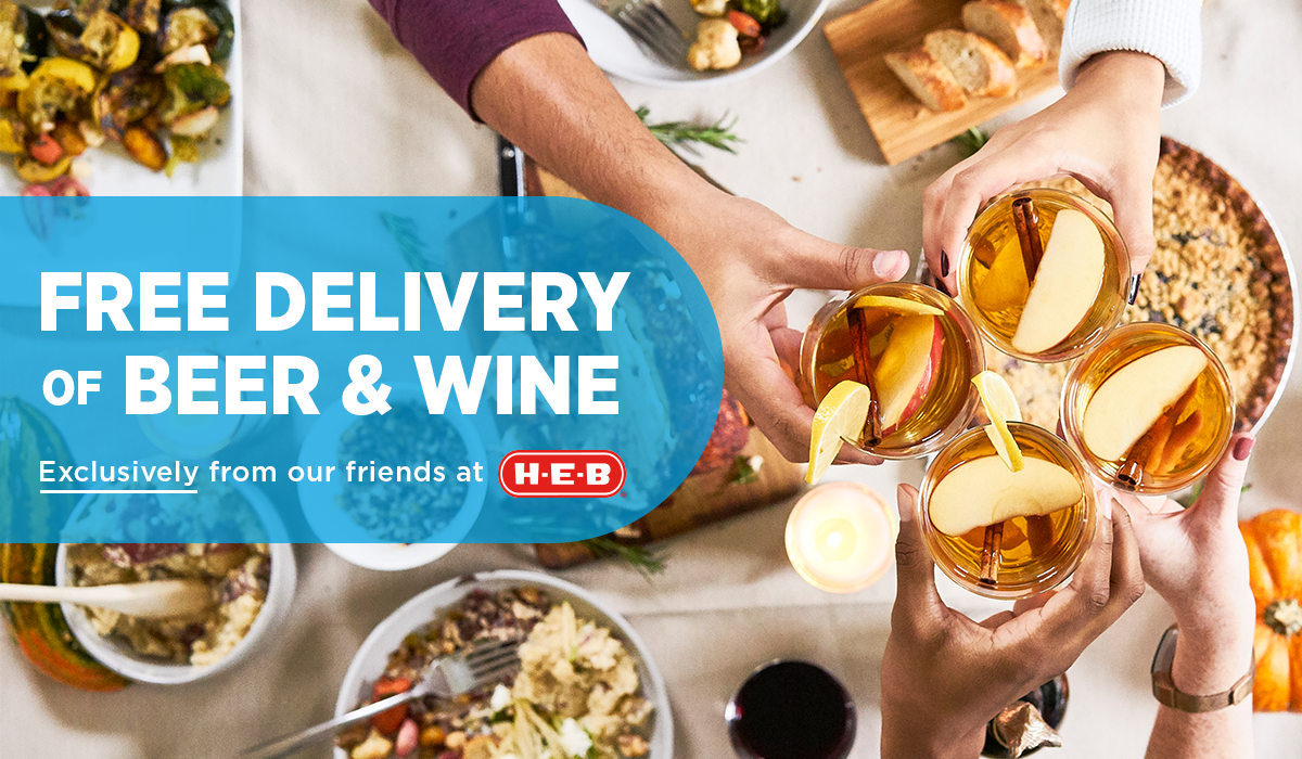 Bring Home the Holiday Magic with Free Delivery of Beer and Wine