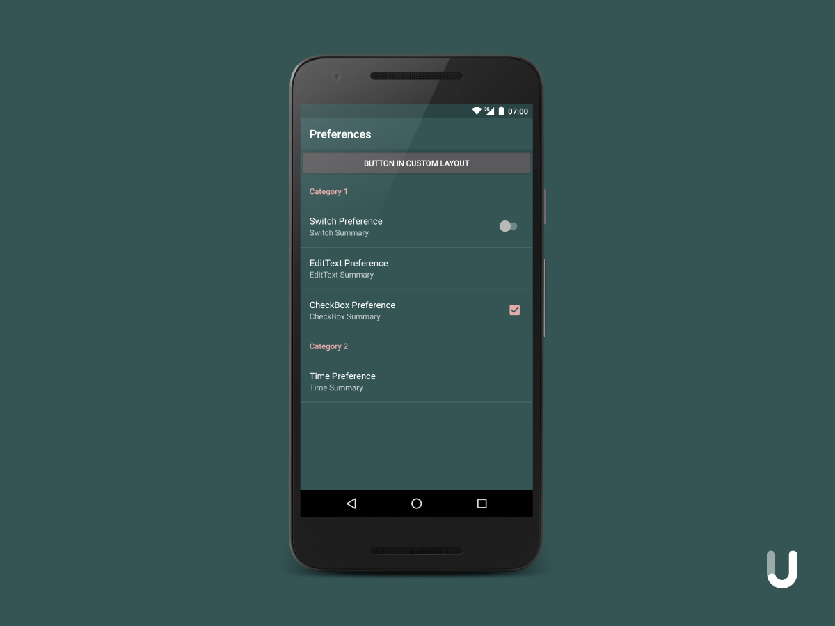 Building an Android Settings Screen (Part 4) - Jakob Ulbrich - Medium