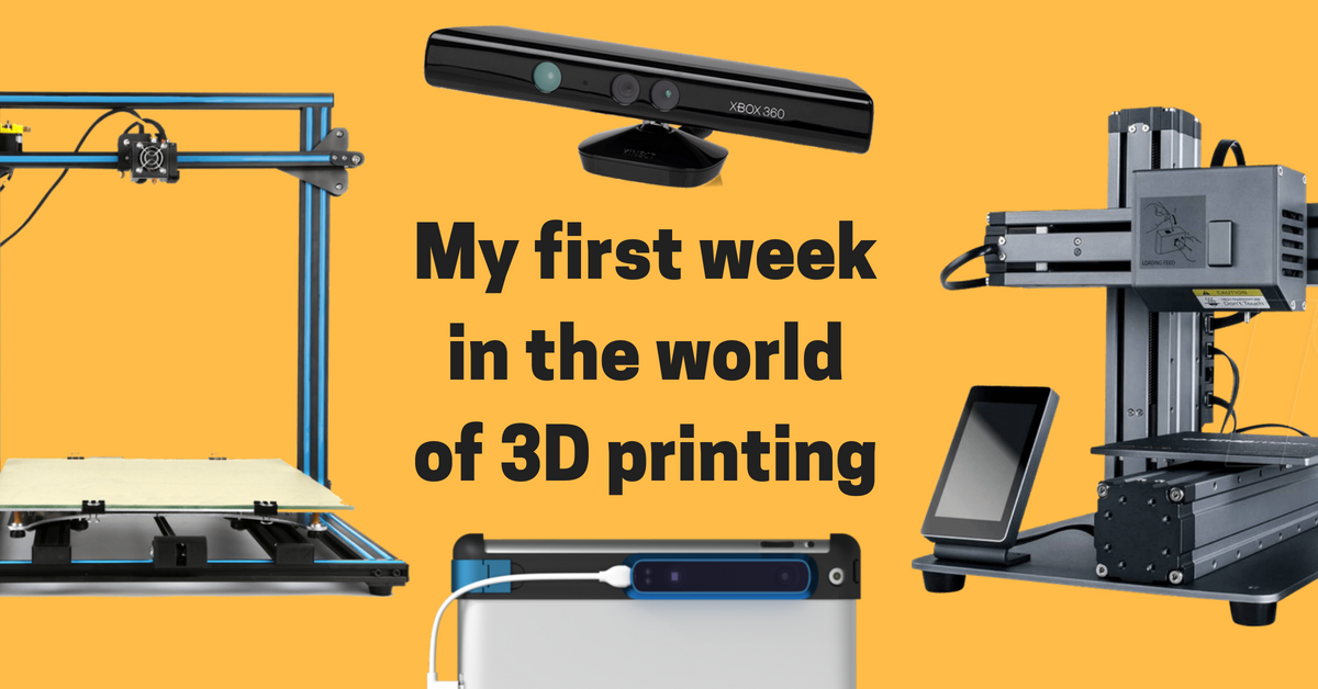 My first week in the world of 3D printing - Frederick