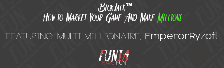 How to market your game on Roblox, and make Millions of Robux