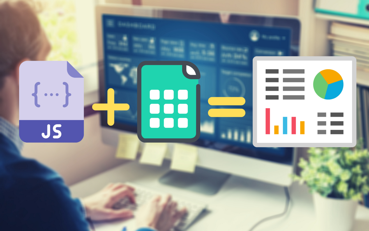 How to create dashboard for free with Google Sheets and Chart.js