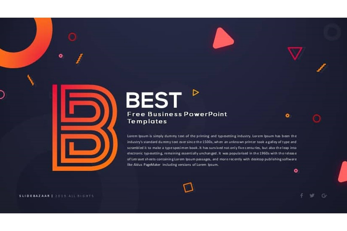 Free Business Powerpoint Templates For Download Franco