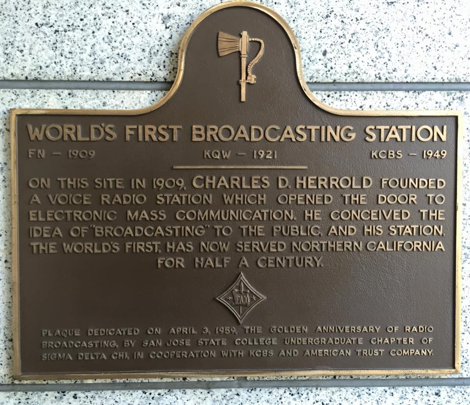 San Jose: Home of the world's first radio station - Paul