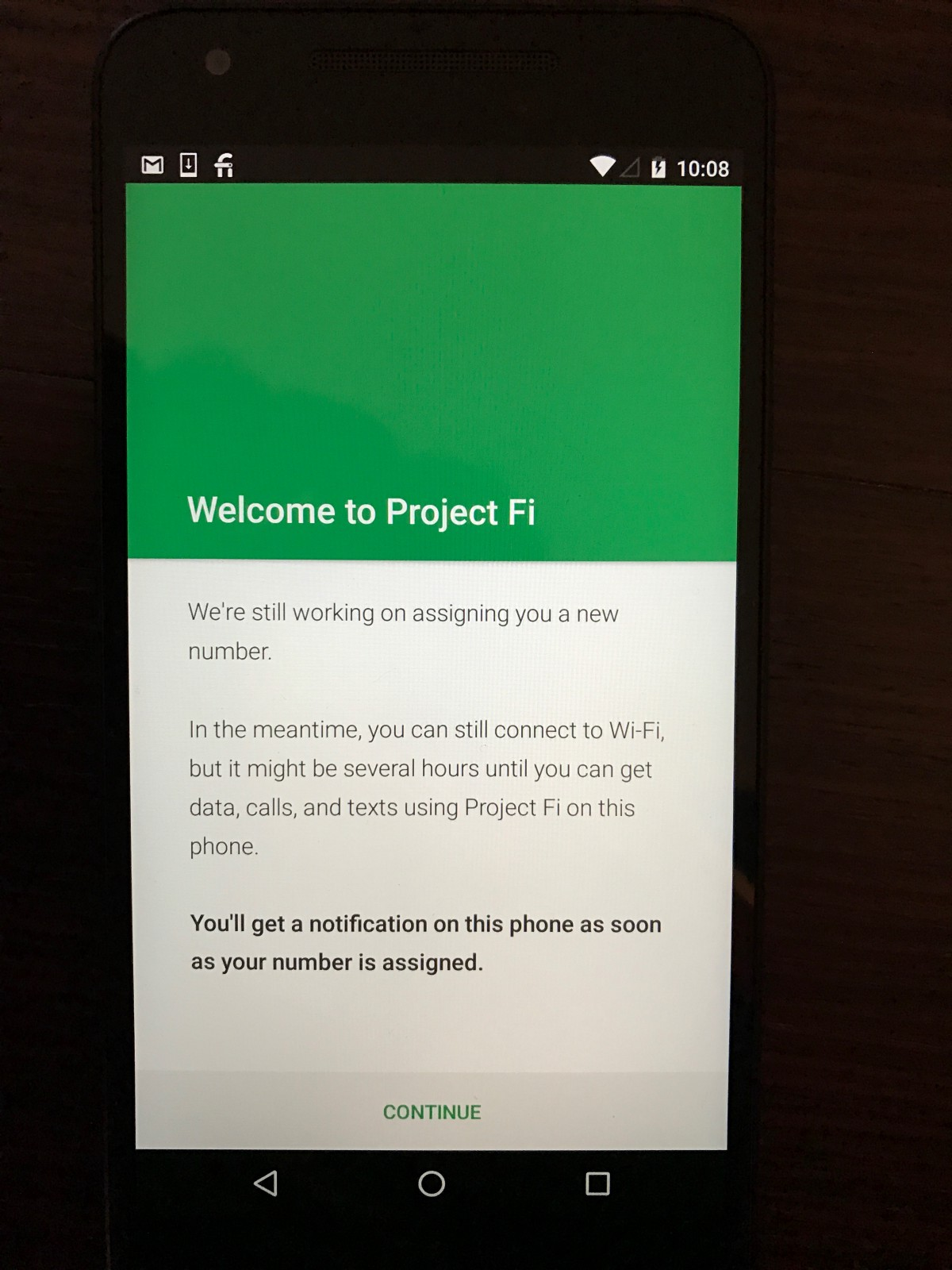 Project Fi, activating internationally and using it as a