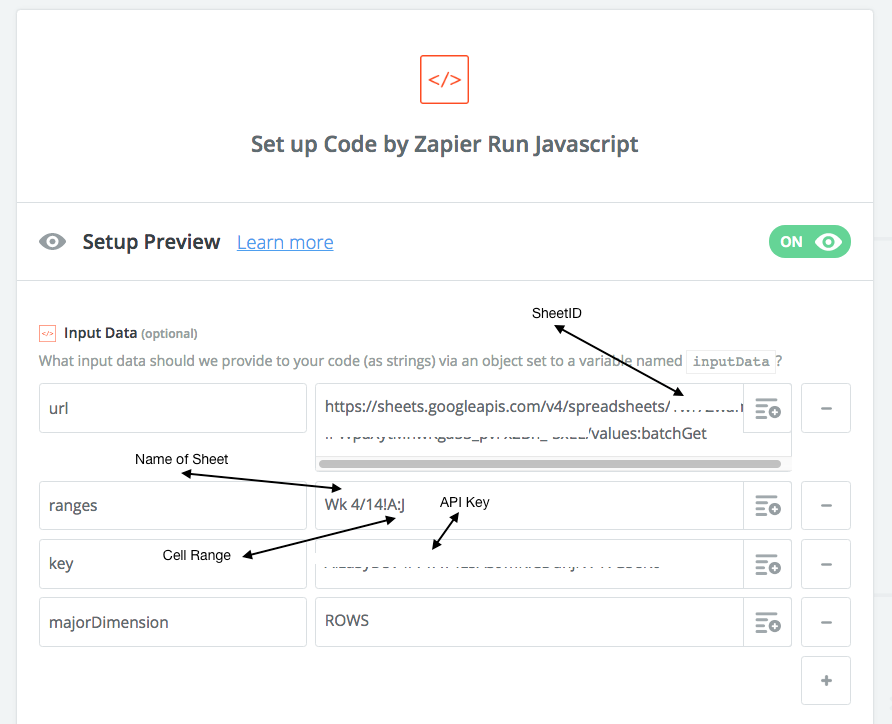 How to get your Google Sheet Data into Zapier and to the REST of the