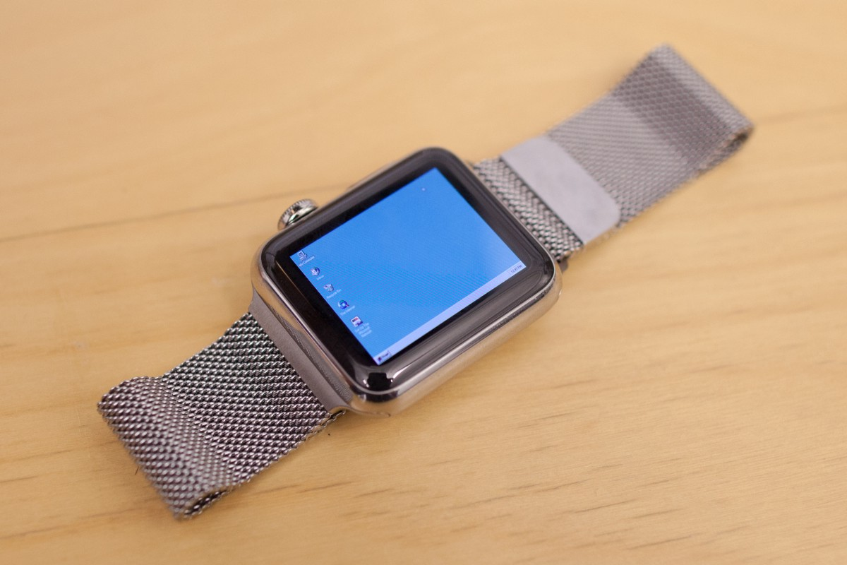 I installed Windows 95 on my Apple Watch - Tendigi