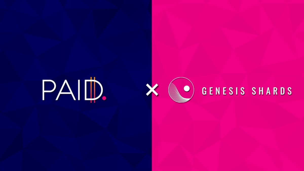 PAID Network Partners With Genesis Shards
