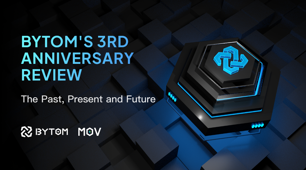 Bytom 3nd Anniversary: The Past, Present and Future