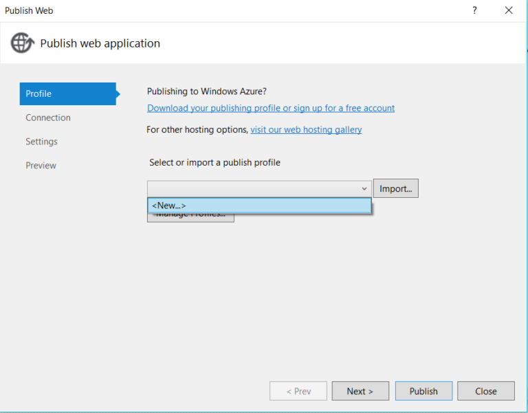 Deploying asp net application in IIS server step by step