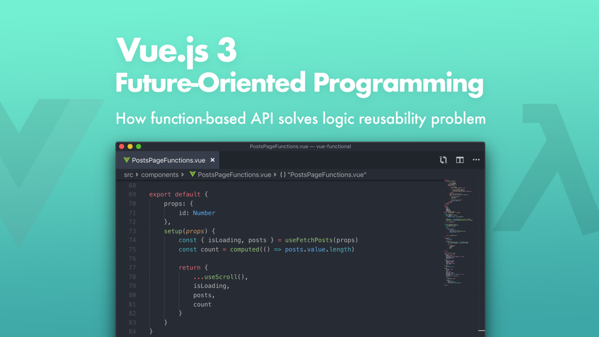 Vue.js 3: Future-Oriented Programming
