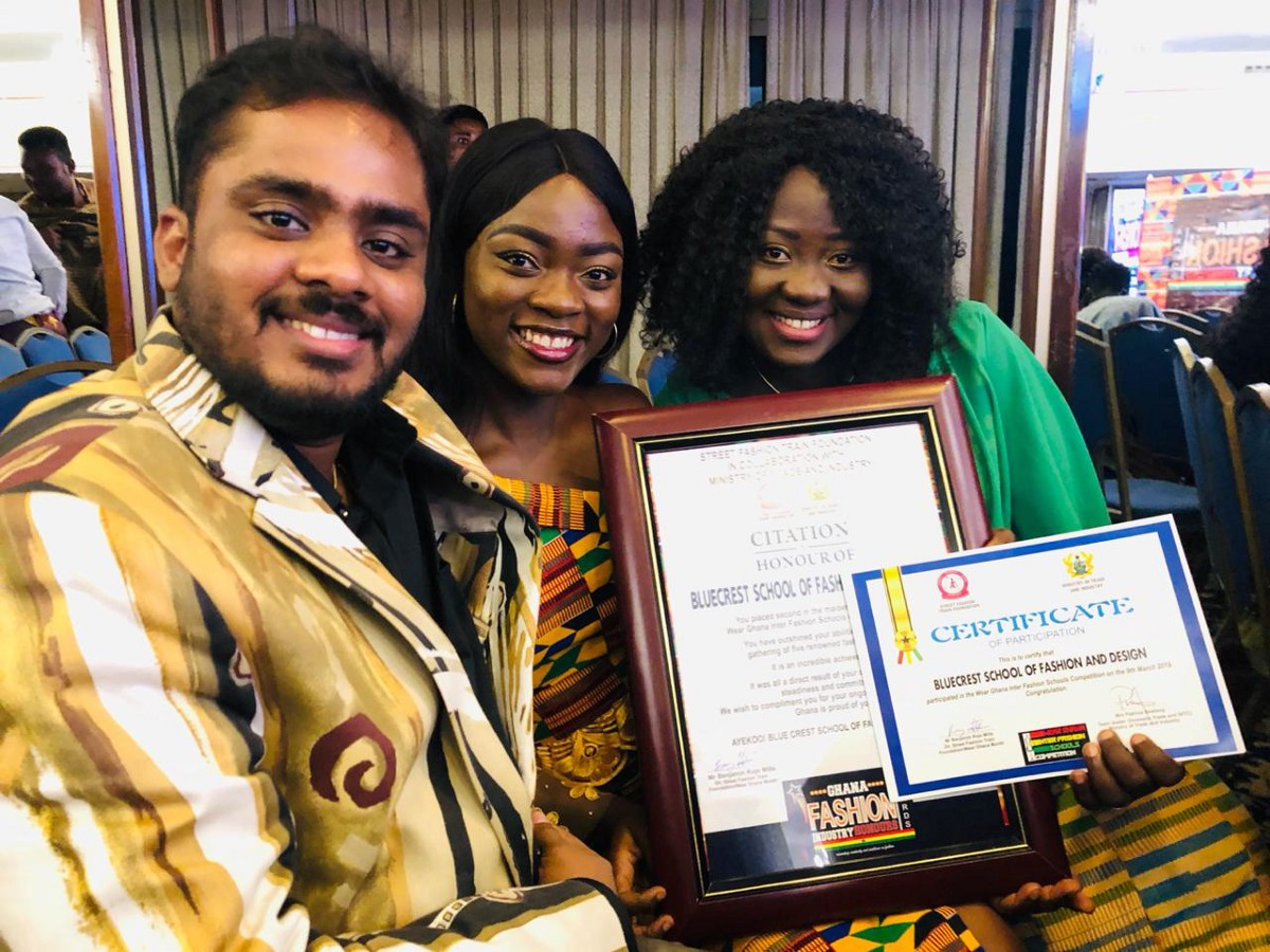 Sfd Swoops Second Prize At 2019 Wear Ghana Awards By Bluecrest College Ghana Optimusmaximus Medium