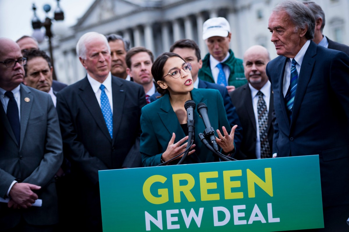 Coming soon: a massive laboratory for 'Green New Deals'