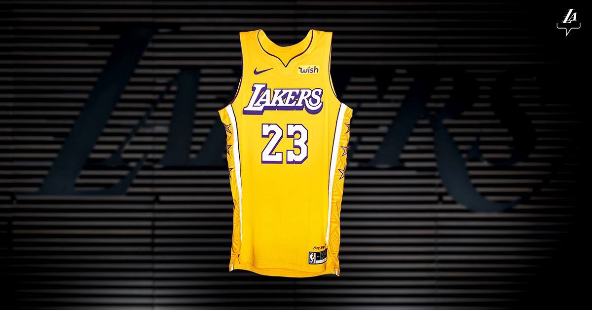 Review Of Lakers 2019 2020 City Edition Lore Series Uniforms By James Brooks Medium