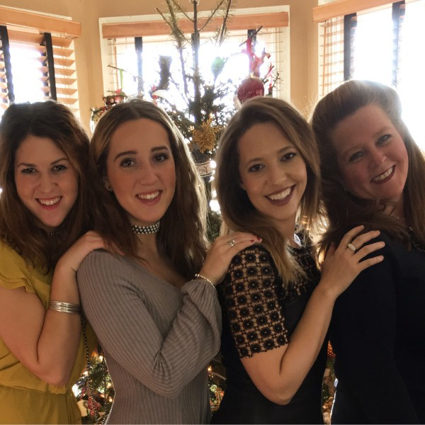 Kendra and her three daughters.