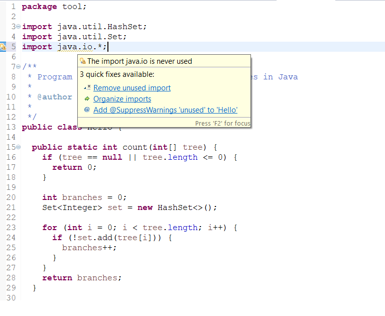 Eclipse Shortcut to get rid of all unused Imports in a Java file