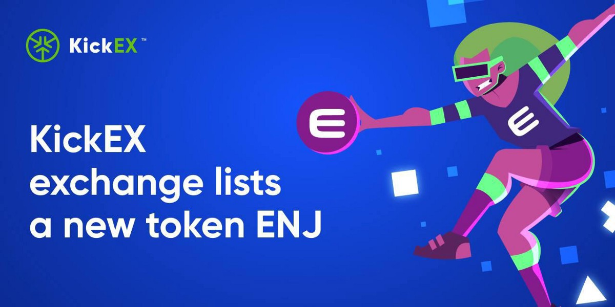 KickEX added a new Enjin Coin (ENJ) to its markets