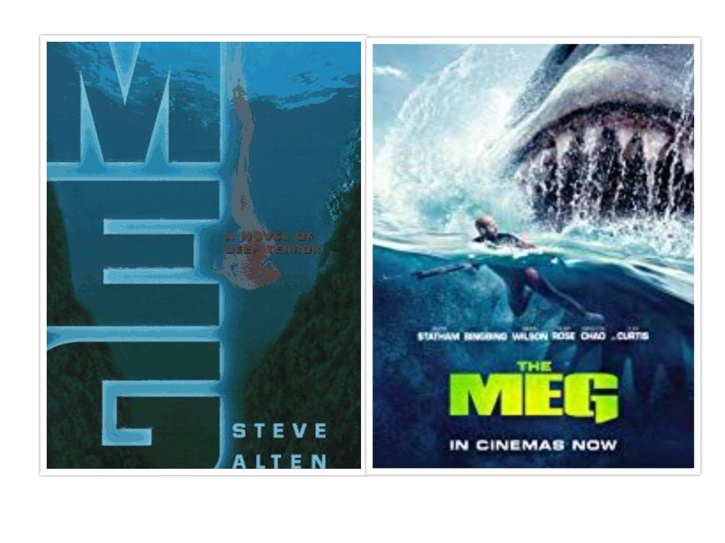 Book Vs Movie The Meg Jim Cherry Medium