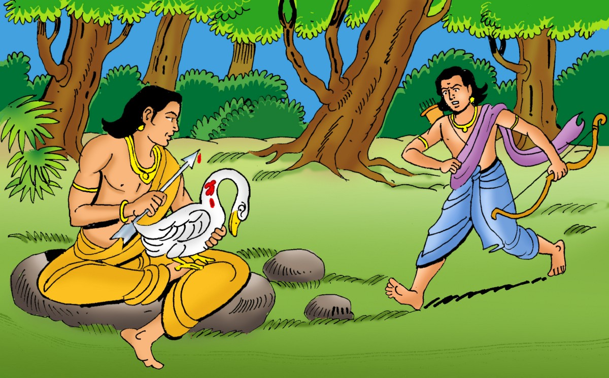 Stories of Buddha: Free bird - Katha Kids