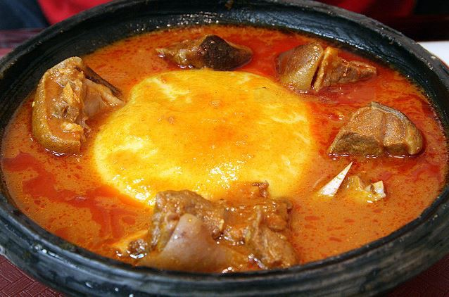 Recipes From Around The World Fufu And Light Soup Recipes Around The World