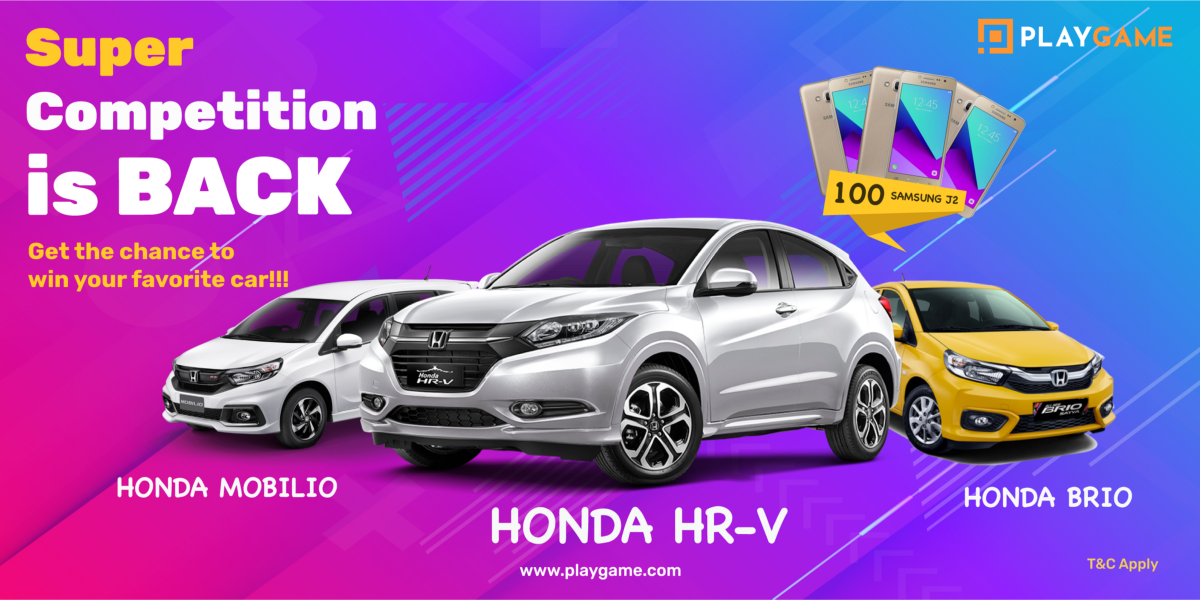 Super Competition is Back! Get your favourite car