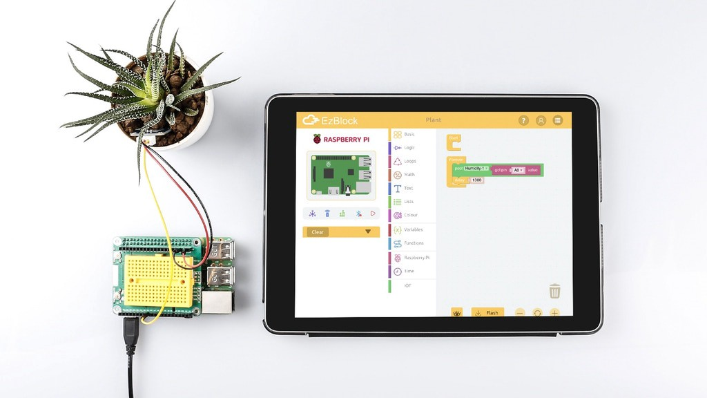 Program the Raspberry Pi Anywhere with the Portable Ezblock Pi