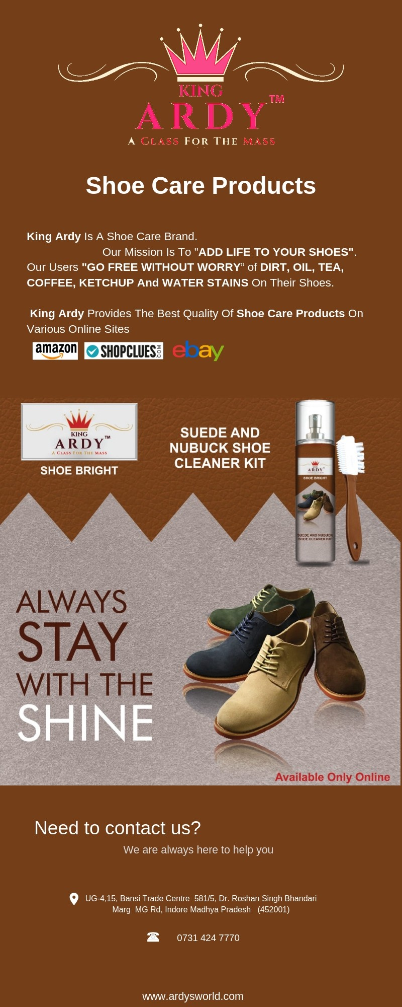 best shoe care products - King Ardy - Medium