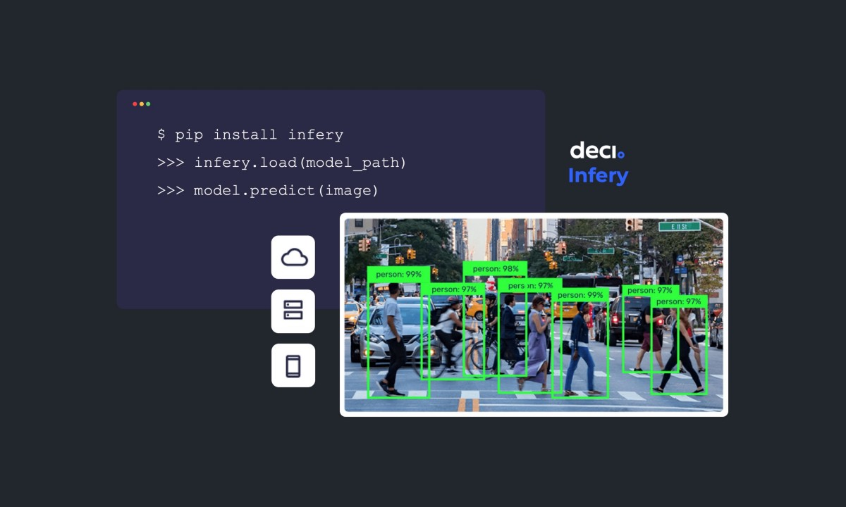 Our mission is to help AI developers easily build, optimize, and deploy deep learning models. As part of this mission, we developed Infery, a Python r