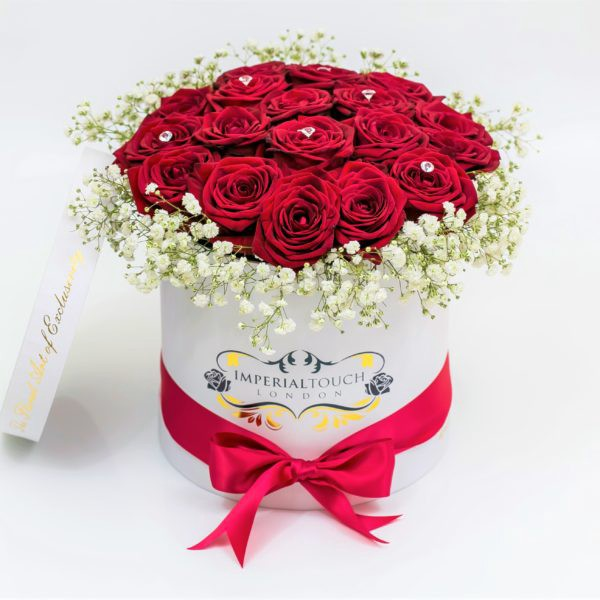 Luxury Flower Delivery London Boxes Bouquets Gifts By Imperial Touch London Medium