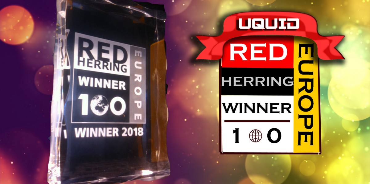 Uquid Selected As Red Herring Top 100 Start-up Company In Europe 2018