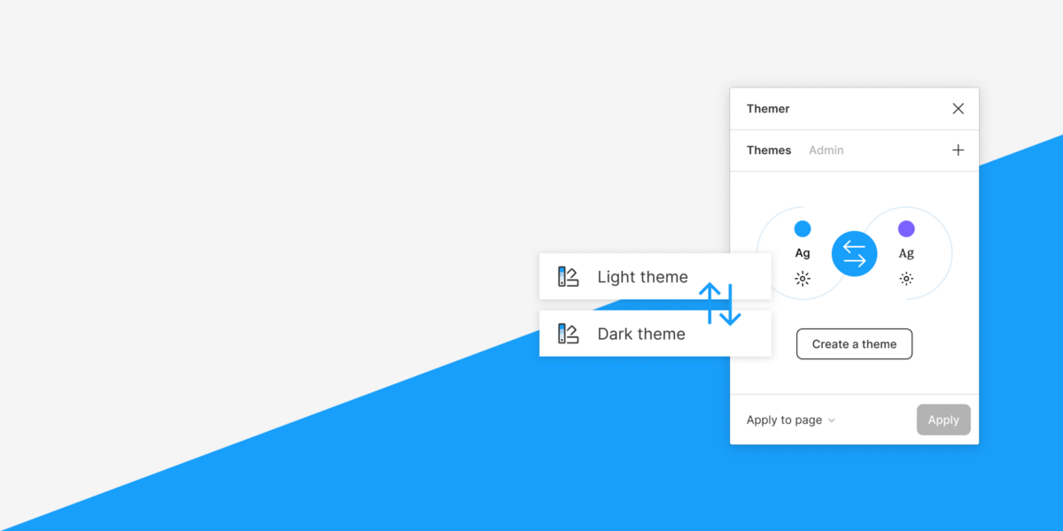 Swapping brands in Figma with Themer