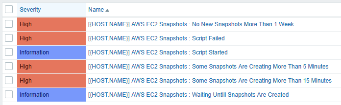 Back Up EC2 Instances And Send Status To Zabbix Via AWS
