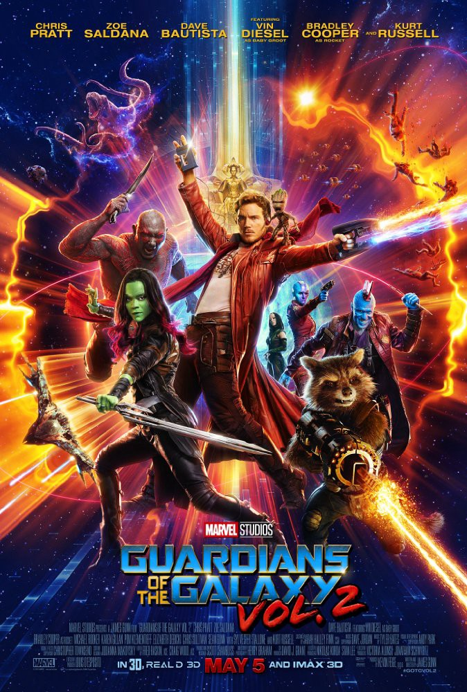 What I am Watching — Guardians of the Galaxy Vol 2