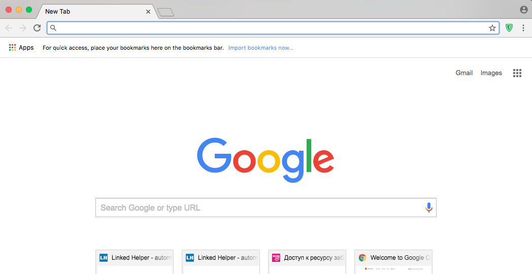 How to setup separate Chrome instance for MAC - Linked