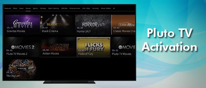 Activate Pluto Tv on your Streaming Device and Enjoy streaming