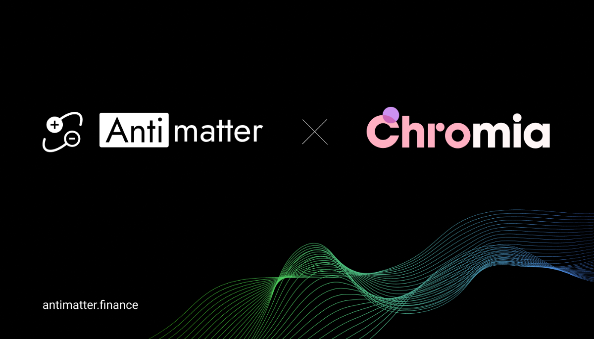 Antimatter join forces with Chromia