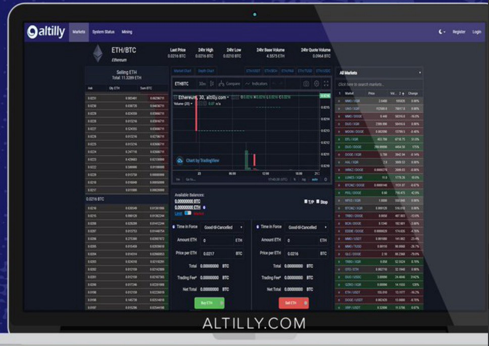 Apollo Gets Listed on Altilly Exchange