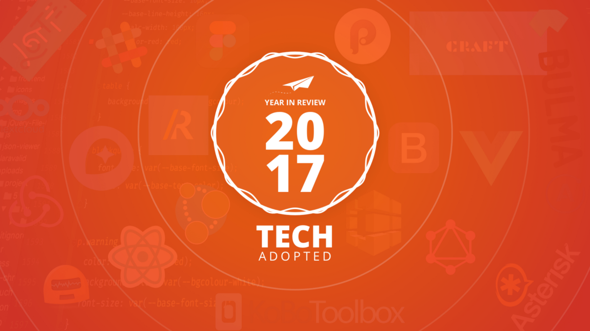 New Technologies adopted — Year 2017 at YoungInnovations
